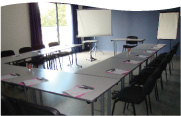 salle de séminaire style u Bénodet